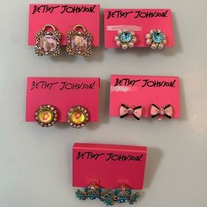 Betsey Johnson Post Earring Bundle